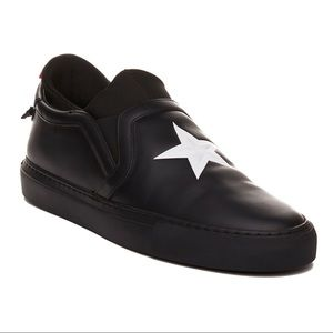 Givenchy Black Slip On Sneakers